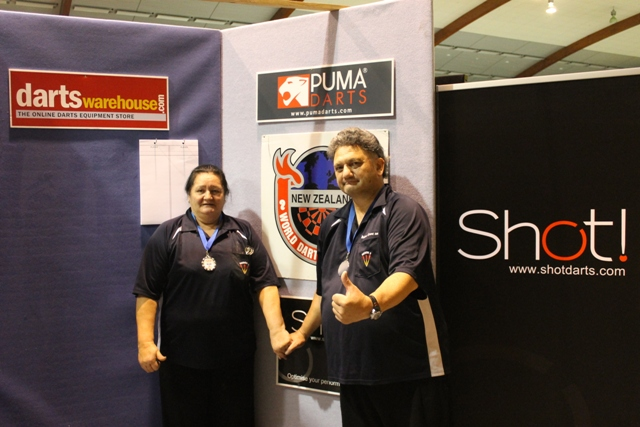 Sonia Lewis & Robert Grant Mixed Pairs Runners Up
