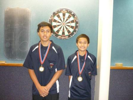 2012 Junior Boys Pairs Winners