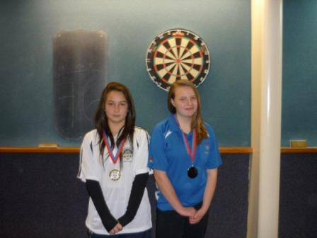 2012 Junior Girls Pairs Winners