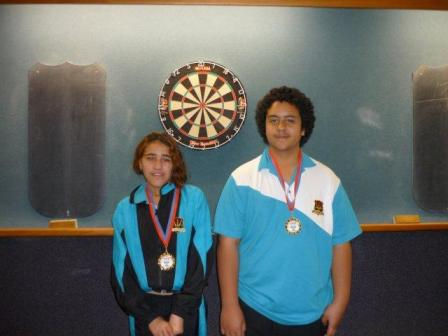 2012 Junior Mixed Pairs Winners