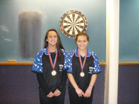 2012 Youth Girls Pairs Winners