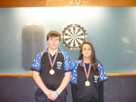 2012 Youth Mixed Pairs Winners