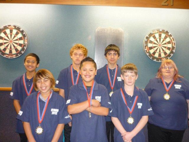 Junior Boys Blue Team Winners