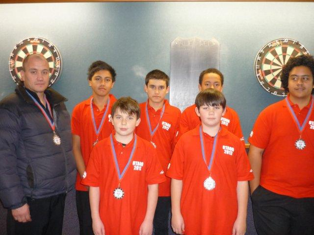 Junior Boys Red Team Runners Up