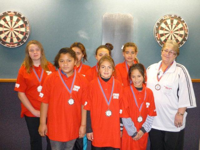 Junior Girls Red Team Runners Up
