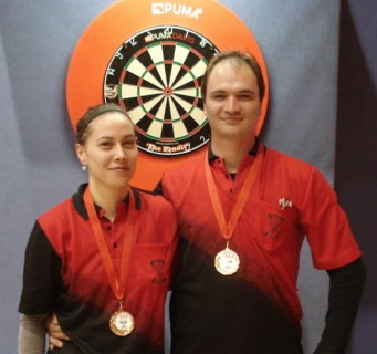 New Zealand Darts Council 2010 Mixed Pairs Winnesr Koha Kokiri & Leah Price