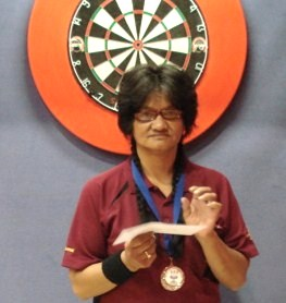 2010 New Zealand Darts Council  Ladies Singles Runner-up Mihi Pike