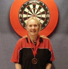 2010 New Zealand Darts Council Ladies Singles Winner Jane Harrington