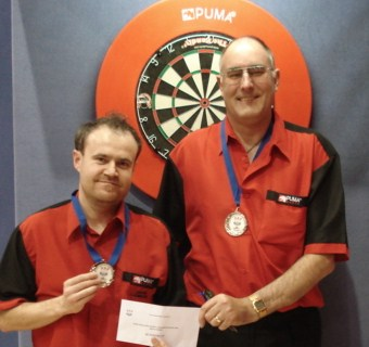 2010 New Zealand Darts Council Mens Pairs Runnerup Jason Ladbrook & Preston Ridd
