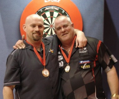 2010 New Zealand Darts Council Mens Pairs Winner Peter Hunt & Bill Fergus