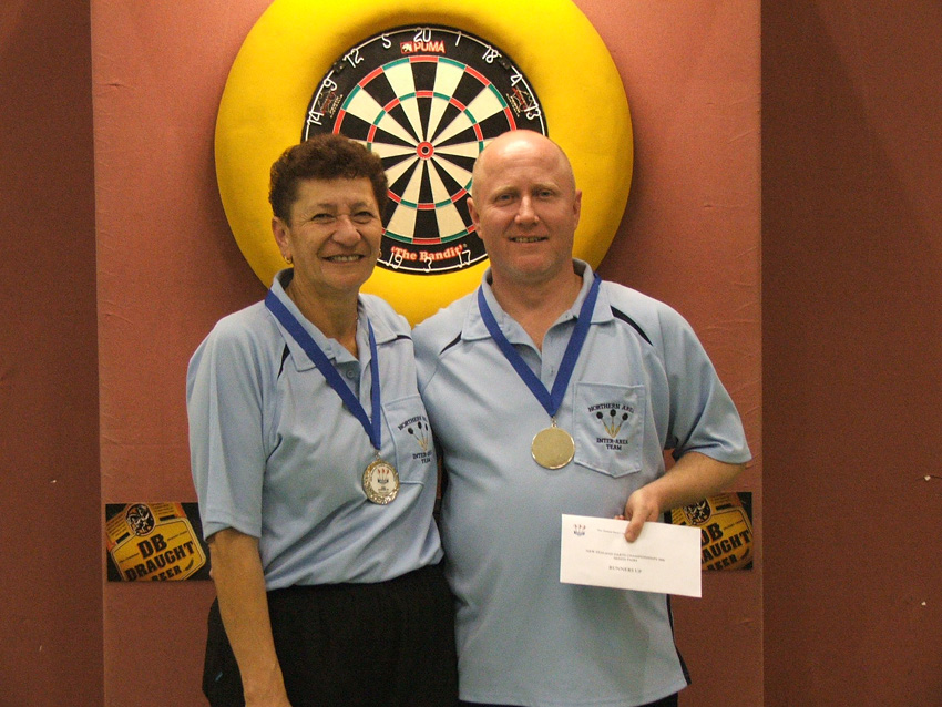 Kingsgate Hotel Mixed Pairs Runners Up (P Speir & G McElroy)