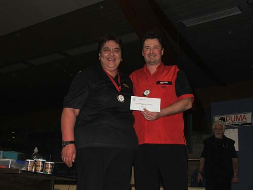 New Zealand Darts Council Mixed Pairs Winners Rob Szabo & Anna Neho