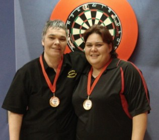 New Zealand Darts Council  Ladies Pairs 2010 Winner Selina Baker-Clemas & Tui Horua