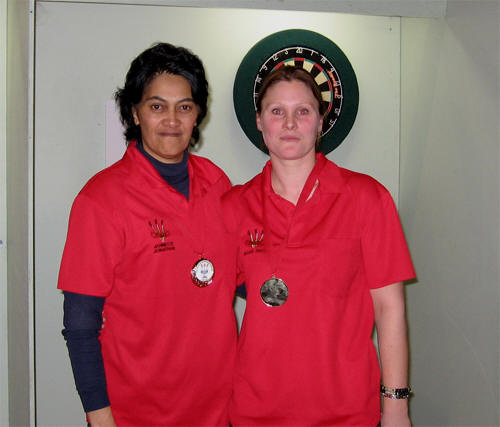 New Zealand Community Trust Ladies Pairs Winners Jannette Jonathan & Megan Smith