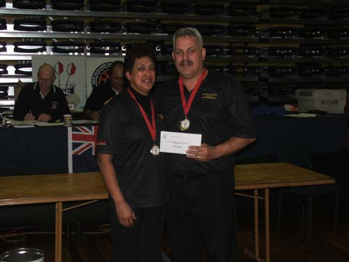 Hardy Bar and TAB Husband & Wife Winners Joe & Anne Marie Temarama