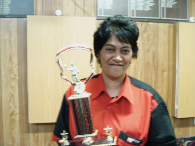 Ted Clements Memorial Levin Ladies Open Winner Jannette Jonathan