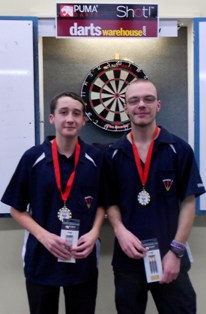 Youth Boys Pairs 2014 Winners J Mitchell & N Holt