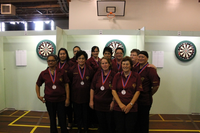 King Country/Waikato Ladies Region Teams Runners Up