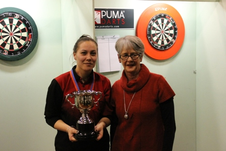 Ladies Singles Winner Leah Price