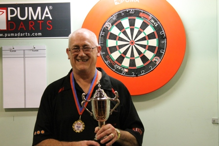 Keith Sheppard Men's Singles Winner 2012