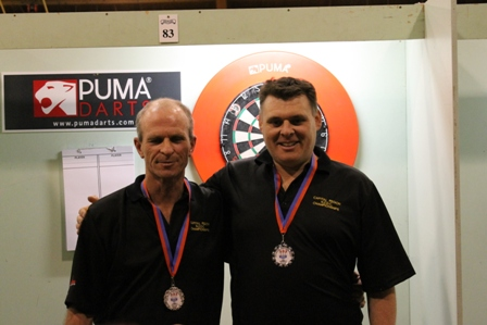 Mens Pairs Runners Up Tony Bull and Criag Caldwell